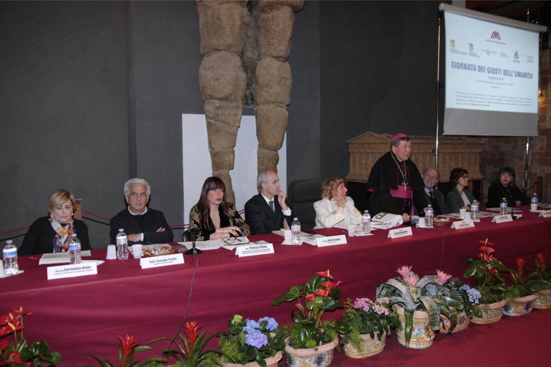 conferenza per i Giusti ad Agrigento