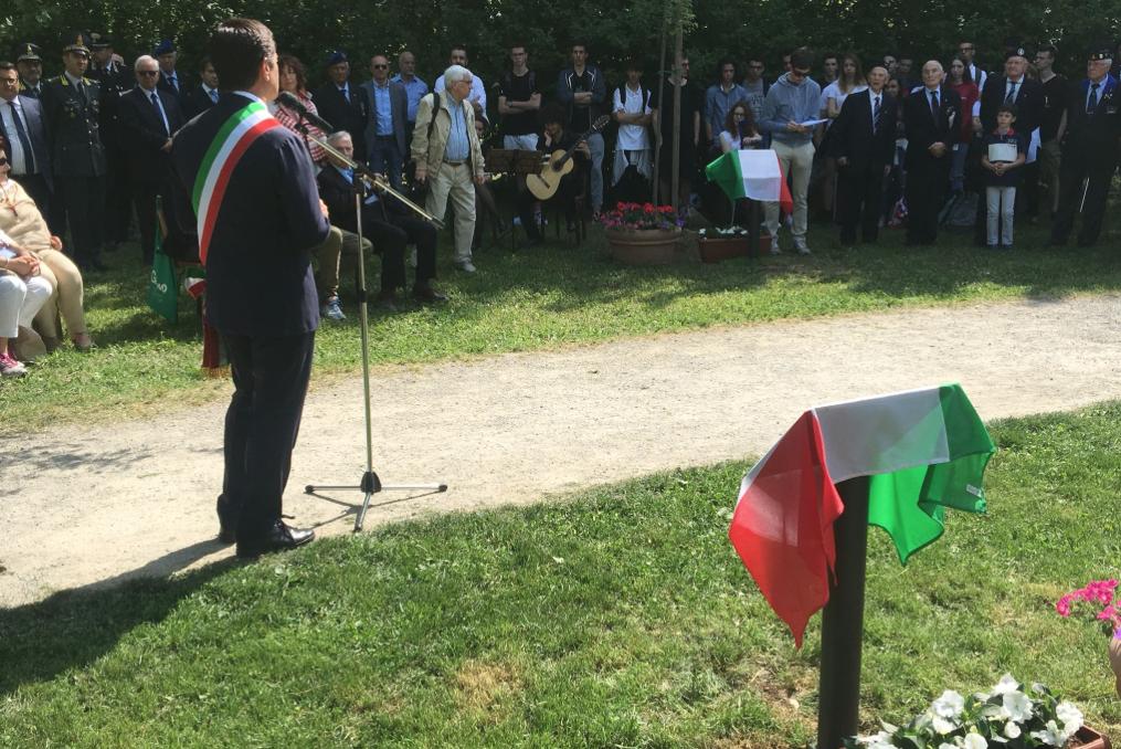 i nuovi Giusti al Giardino di Bergamo