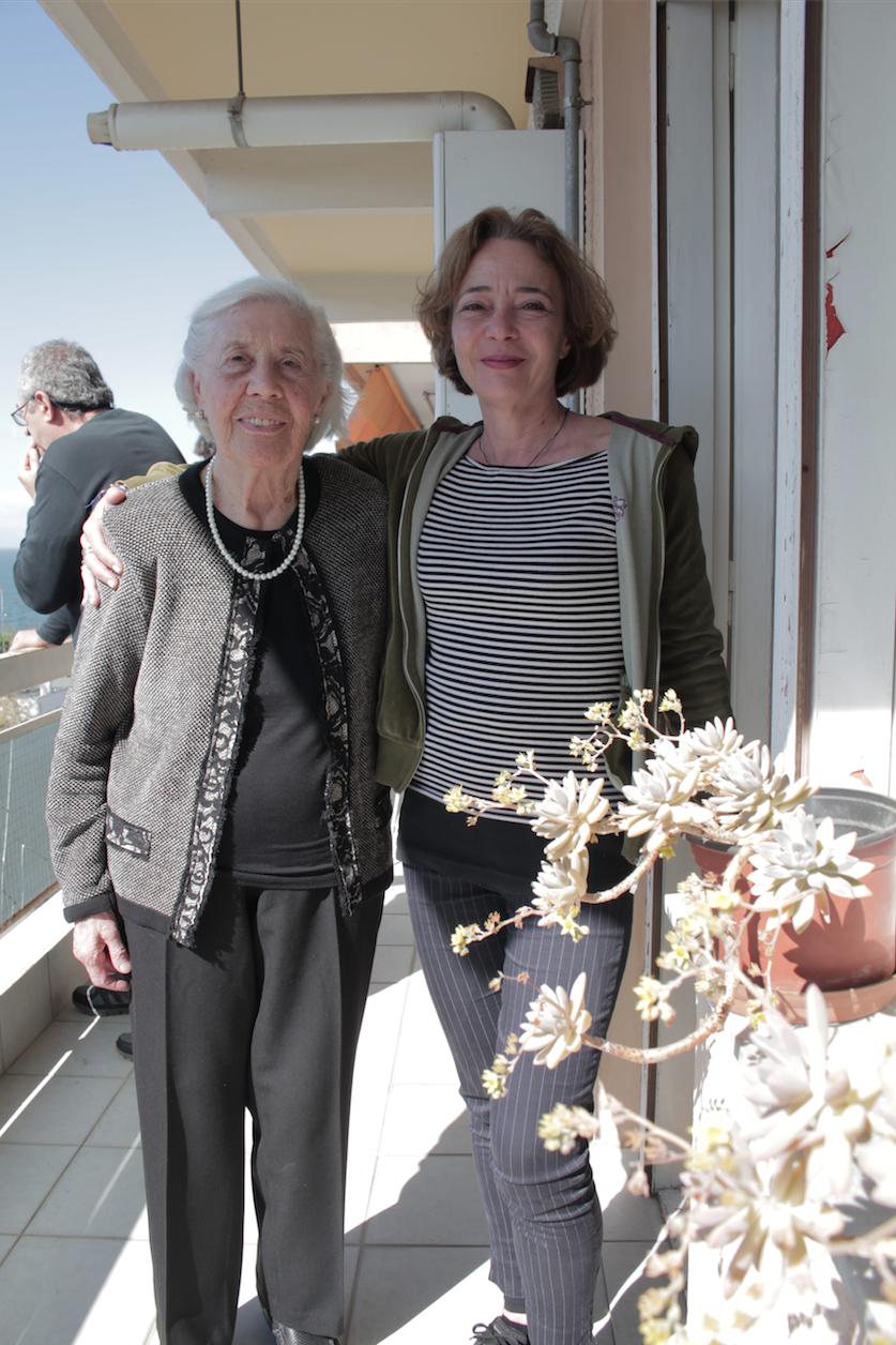 Drita Giomo, che aiutò Lucillo Merci e la regista Alessandra Maioletti