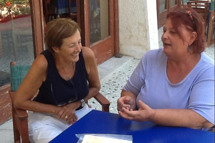 Hotel Votsala, Anna Maria Samuelli e Daphne Vloumidi