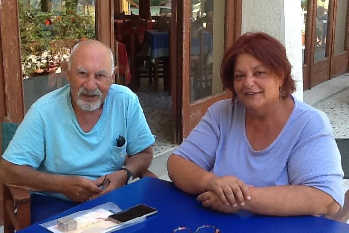 Hotel Votsala, Pietro Kuciukian e Daphne Vloumidi