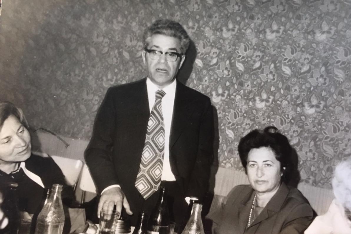 L'ultimo incontro con Landau, maggio 1974