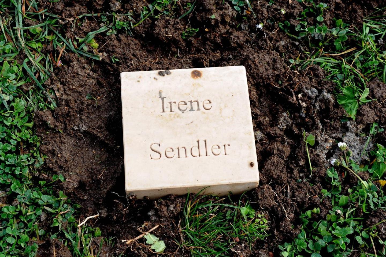 Il cippo per Irena Sendler