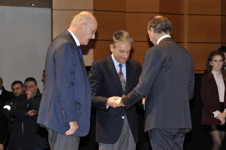 La consegna della Medaglia a Gabriele Nissim e Massimo Colombo