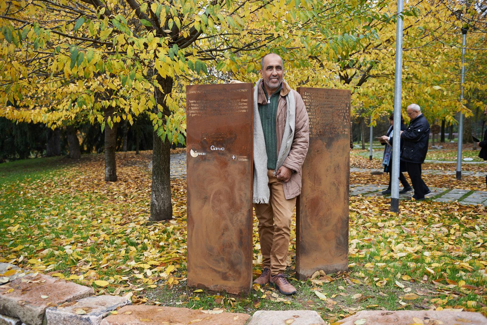 Hamadi Ben Abdesslem, Giusto al Giardino di Milano per aver salvato un gruppo di turisti italiani durante l'attentato del 2015 al Museo del Bardo
