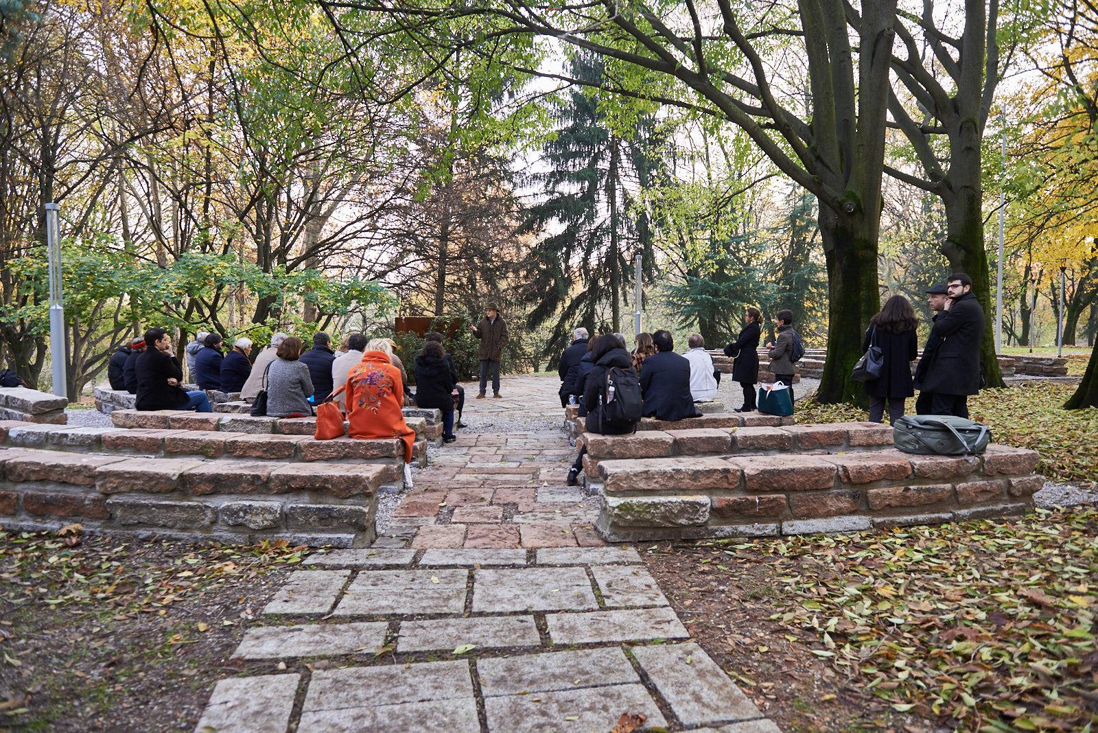 Nell'Anfiteatro dedicato a Ulianova Radice, co-fondatrice e direttrice di Gariwo scomparsa nel 2018
