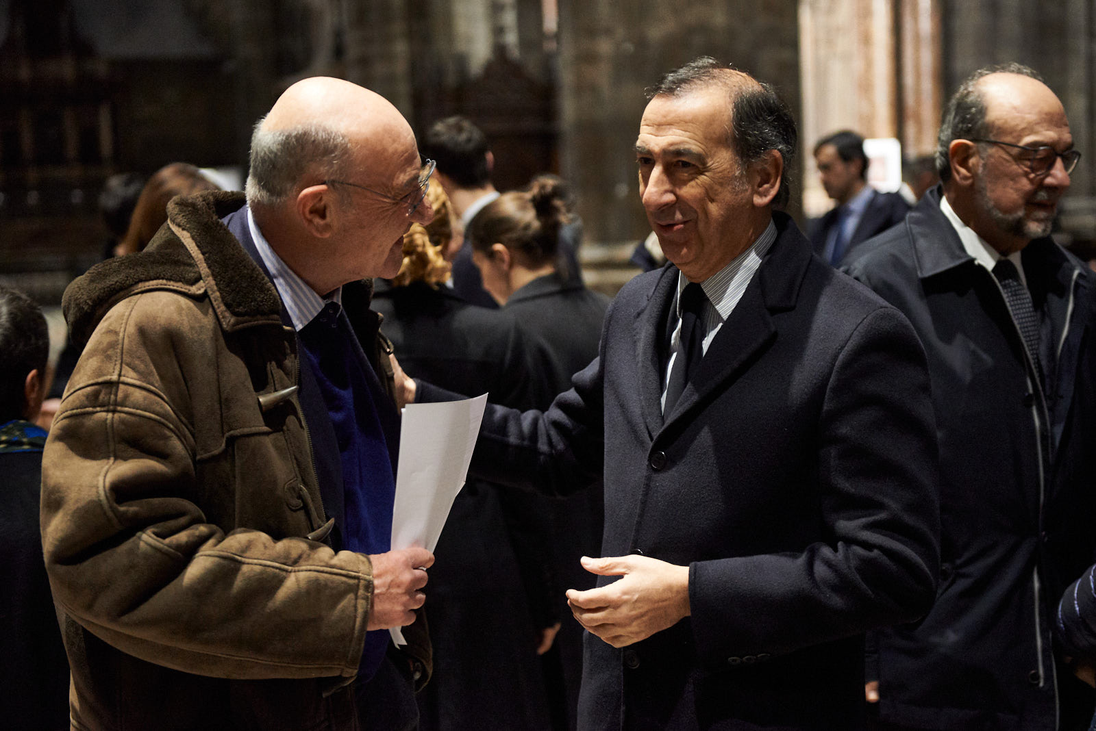 Gabriele Nissim e Giuseppe Sala