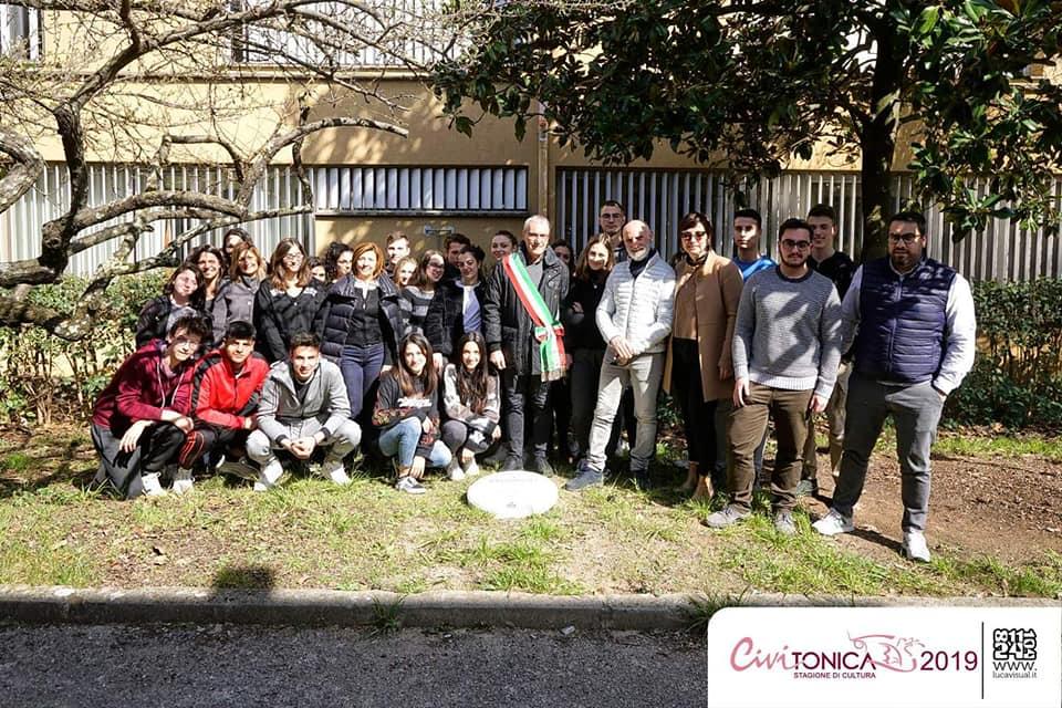con gli amici di Civitonica per la Giornata dei Giusti a Civita Castellana