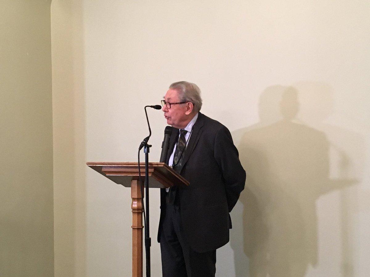 il Professor Antony Polonsky parla dei Giusti polacchi all'Houses of Parliament di Londra