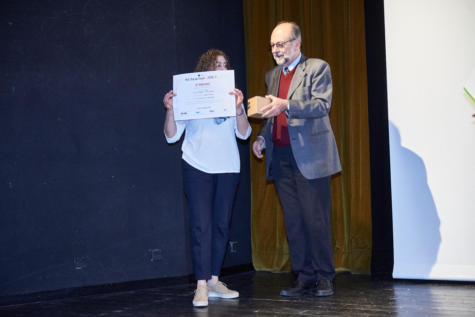La premiazione delle scuole superiori