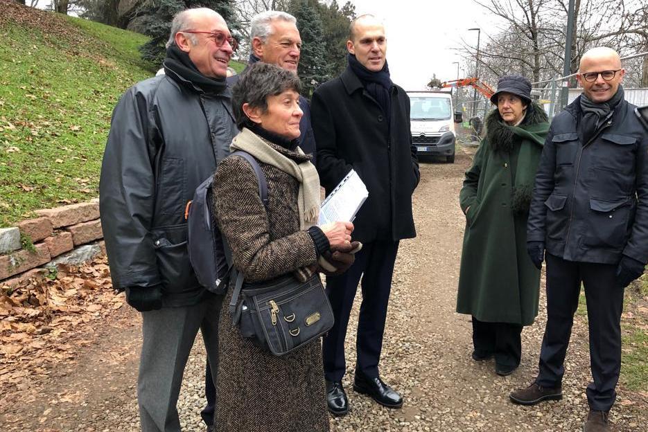Gadi Schoenheit, Roberto Jarach, Viviana Vestrucci, Ofer Sachs, Anna Maria Samuelli e Ariel Nachman