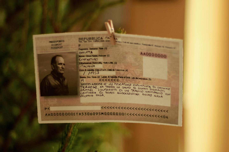 """Il """"passaporto"""" di Costantino Baratta"""