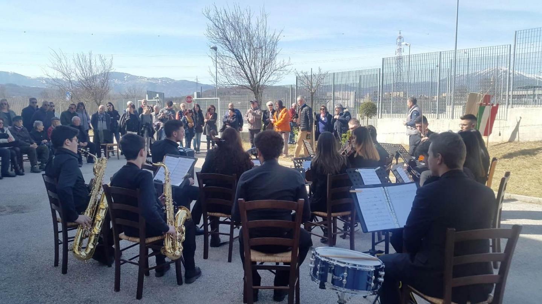 L'orchestra della scuola diretta da Francesco Serone