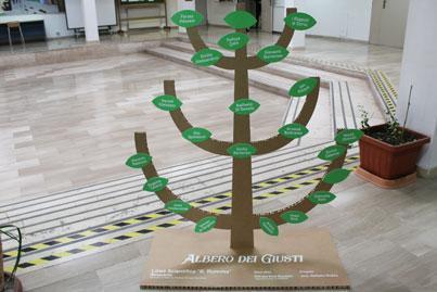 l'albero dei Giusti a Benevento