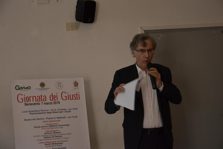 Gerard Malkassian a Benevento