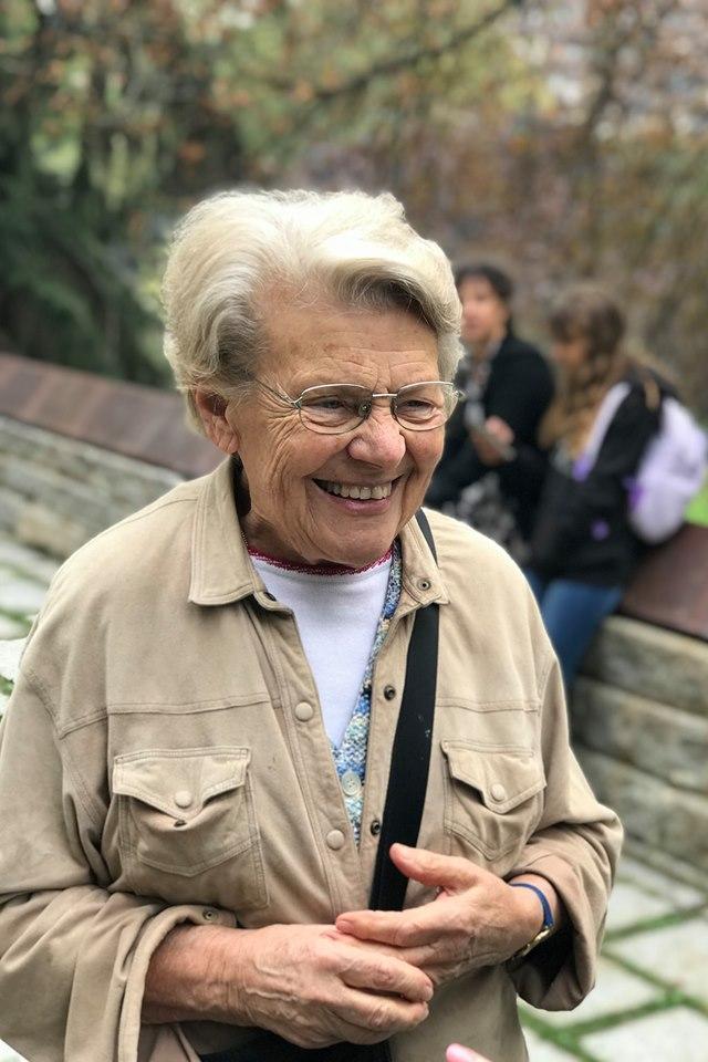 Alla visita, la sorella di Pierantonio Costa