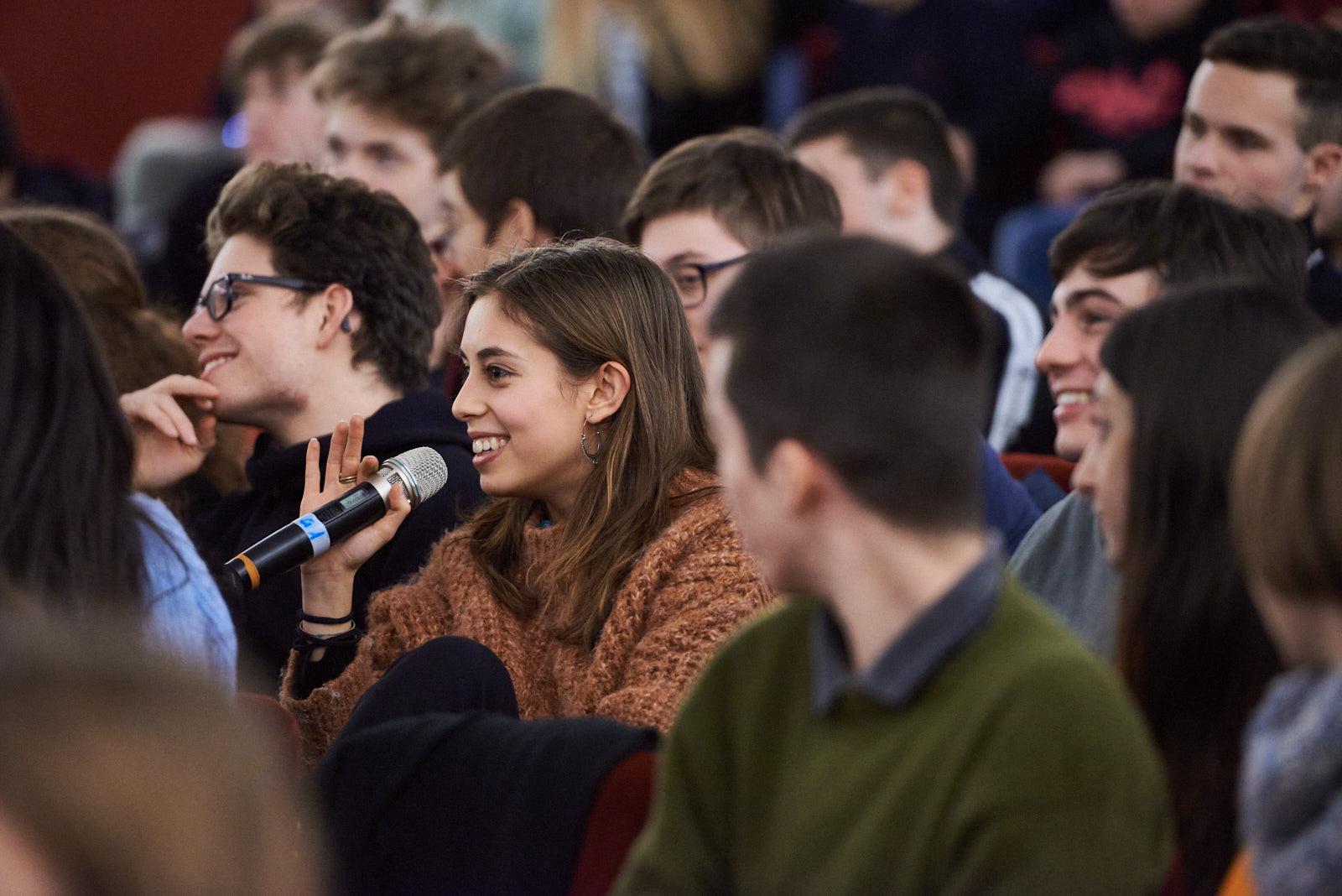 Domande e curiosità degli studenti