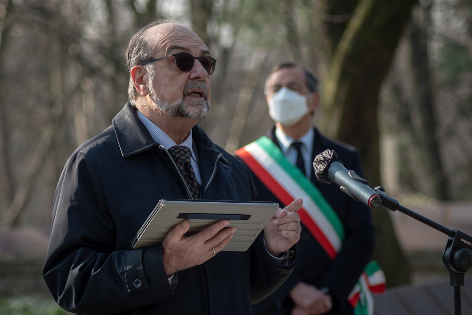 L'intervento del vicepresidente UCEI Giorgio Mortara