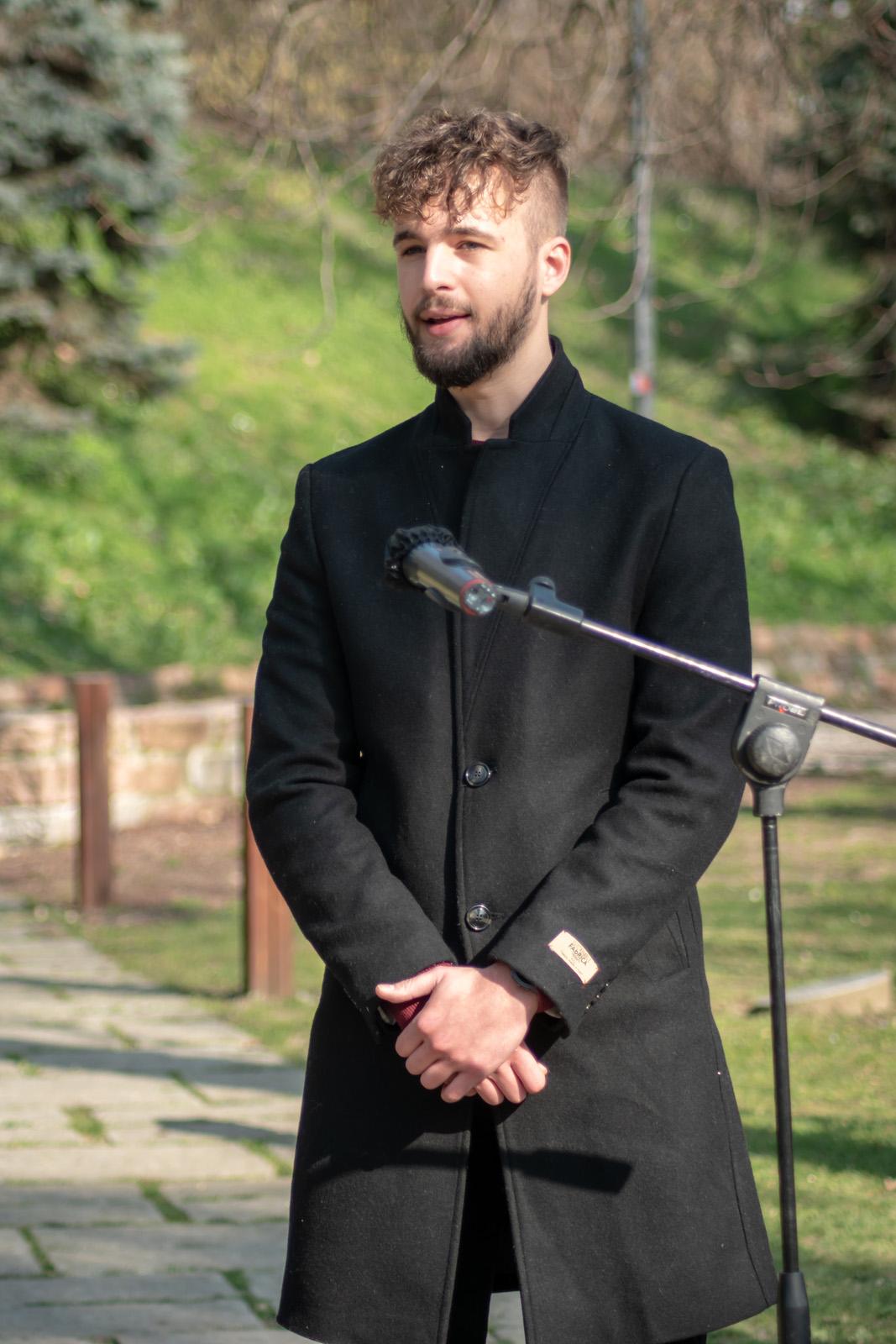 Luca Urbani, figlio di Carlo Urbani