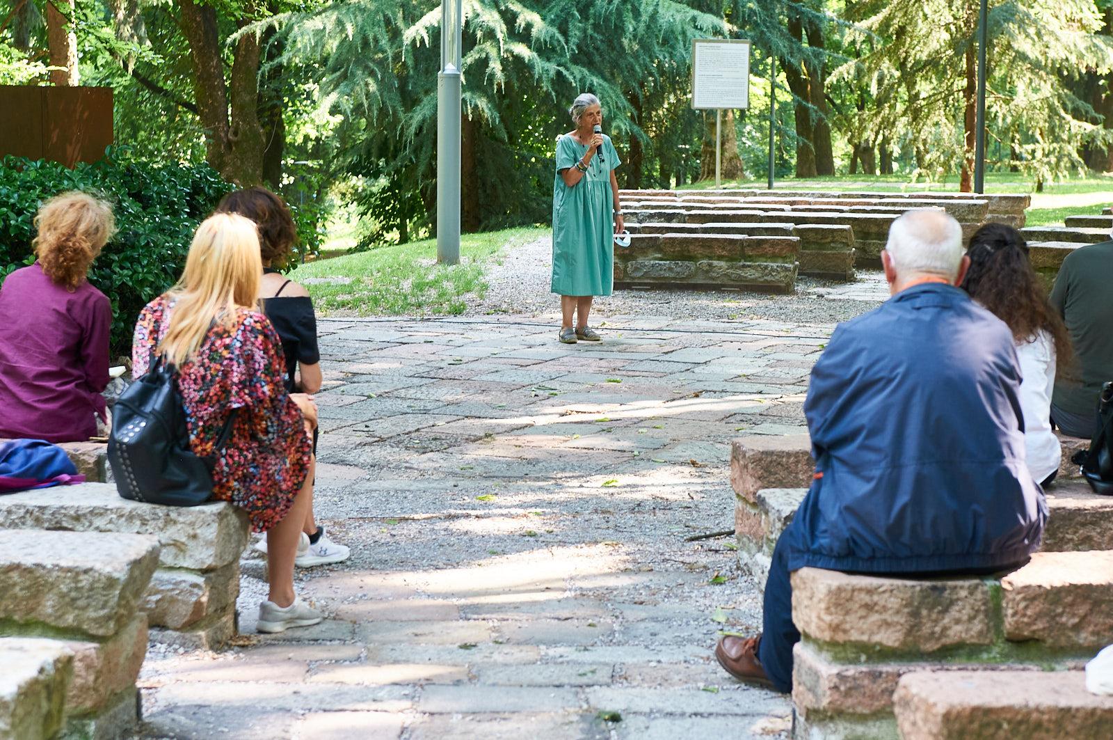 Giovanna Grenga, docente e co-referente del Giardino dei Giusti di Roma