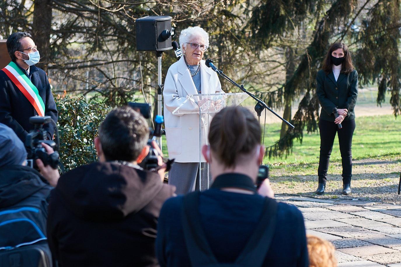 La Senatrice Liliana Segre ricorda la Giusta Susanna Aimo
