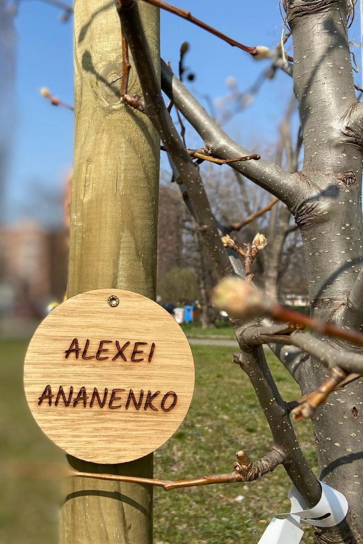 Dal Giardino dei Giusti di Nichelino per Alexei Ananenko