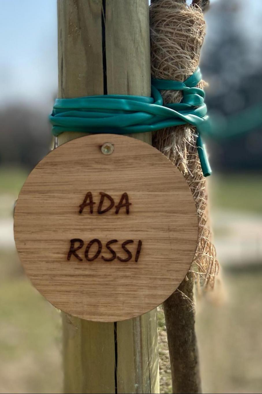 Dal Giardino dei Giusti di Nichelino per Ada Rossi