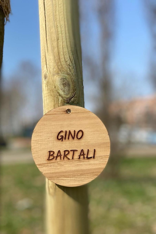 Dal Giardino dei Giusti di Nichelino per Gino Bartali