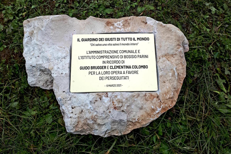 Inaugurazione Giardino dei Giusti di Bosisio Parini