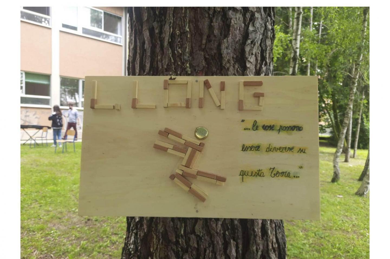 La targa dedicata a Luz Long