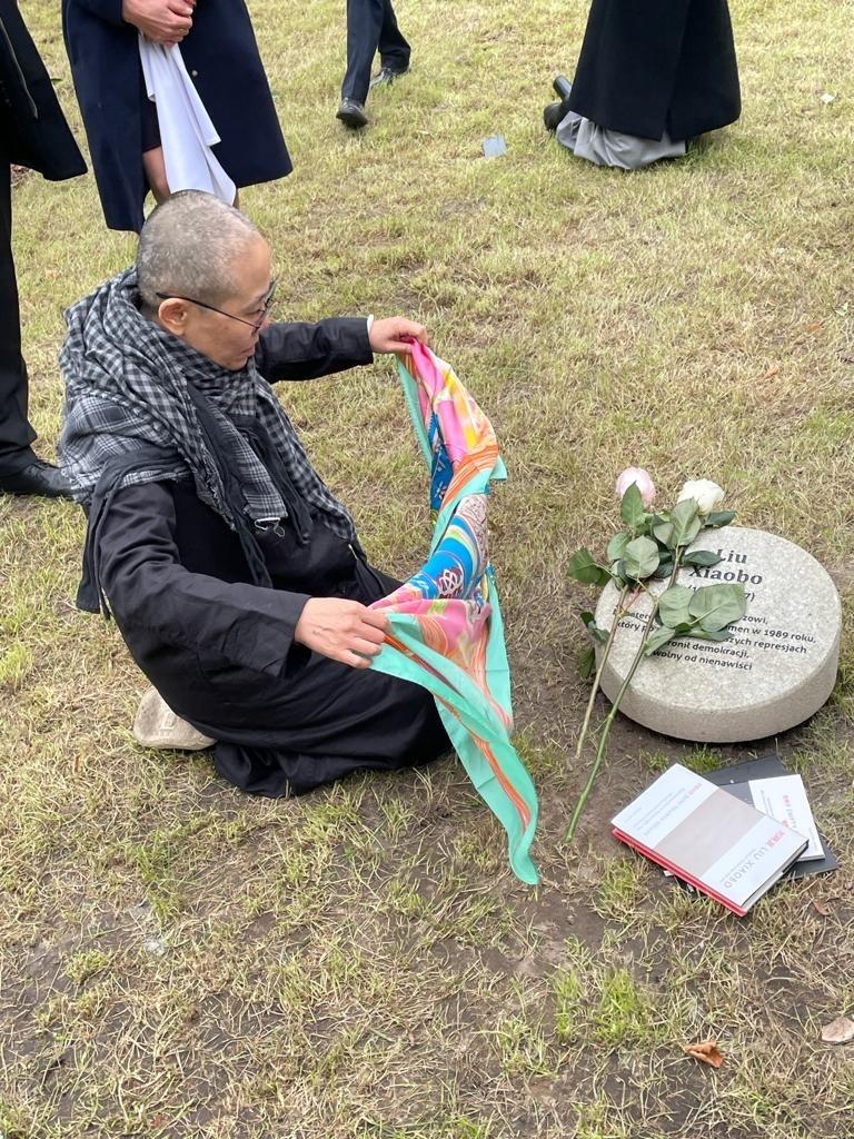 Liu Xia, attivista per i diritti umani in Cina, vedova del Premio Nobel per la pace Liu Xiaobo
