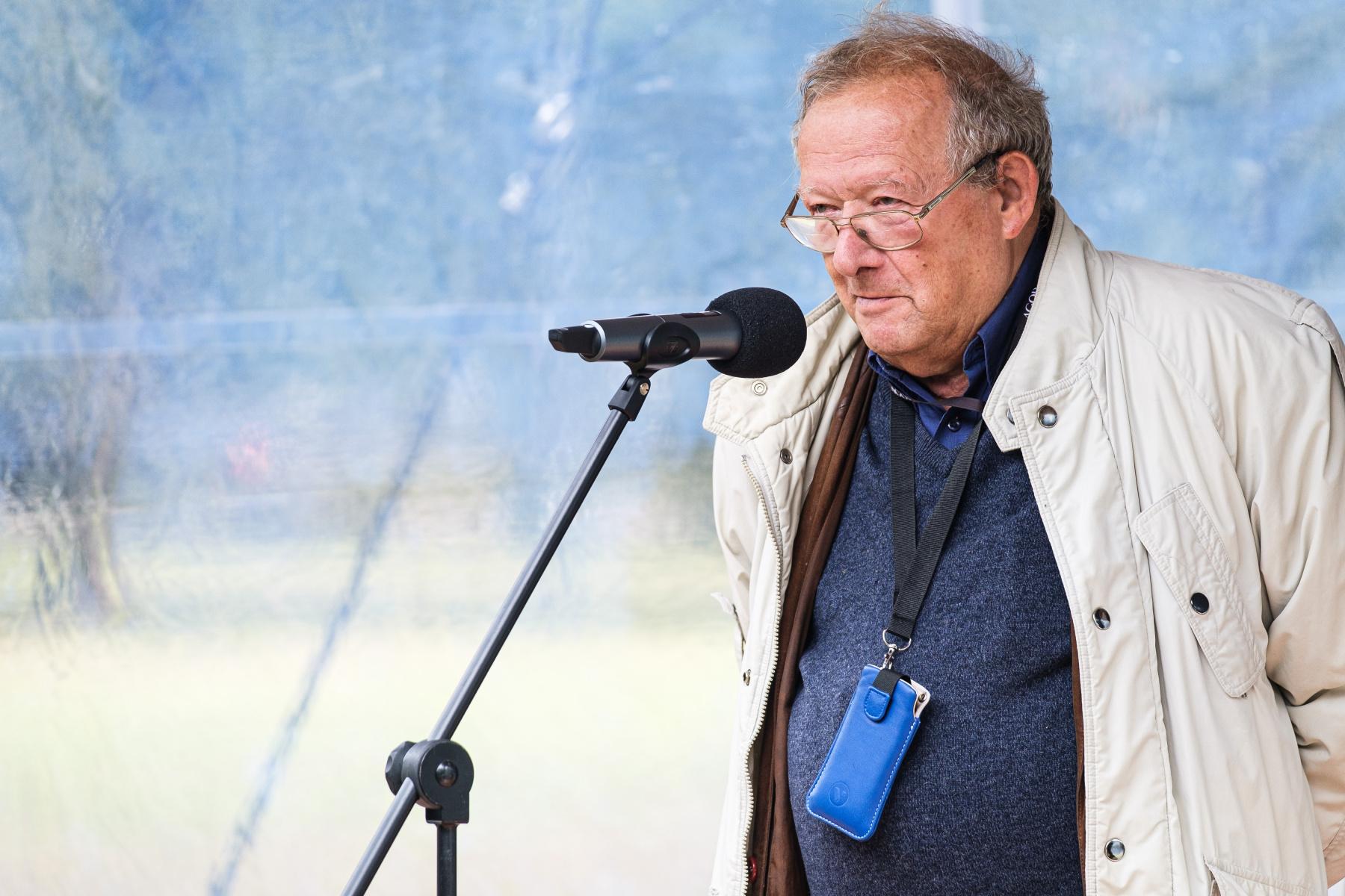 Adam Michnik, saggista, editore e politico polacco fondatore e direttore del quotidiano Gazeta Wyborcza