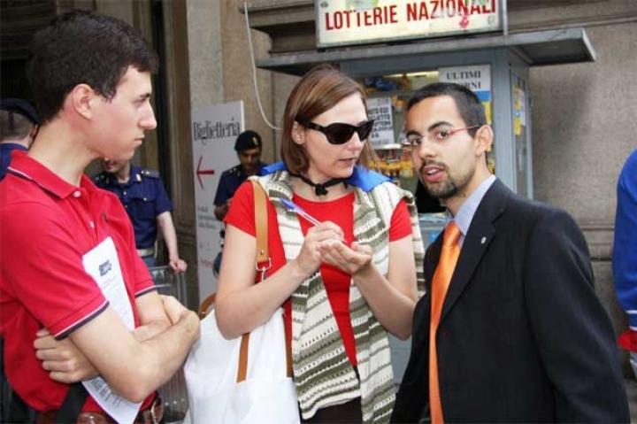 Matteo Cazzulani, presidente di AnnaViva, rilascia una dichiarazione