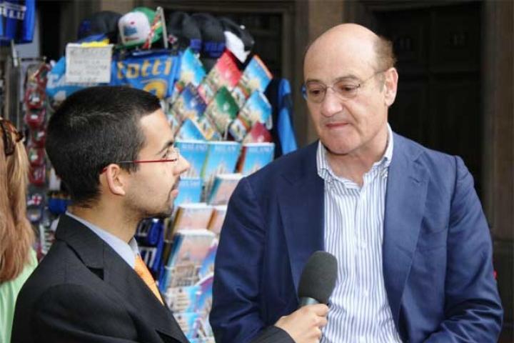 Gabriele Nissim intervistato dal presidente dell'Associazione AnnaViva