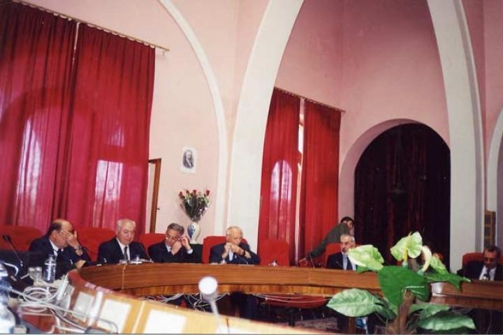 Commemorazione di Gorrini all'Accademia delle Scienze