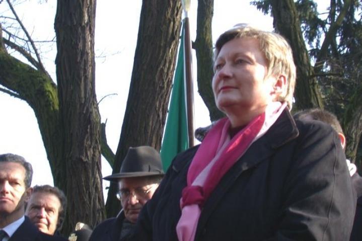 Svetlana Broz per il progetto Giardino a Sarajevo