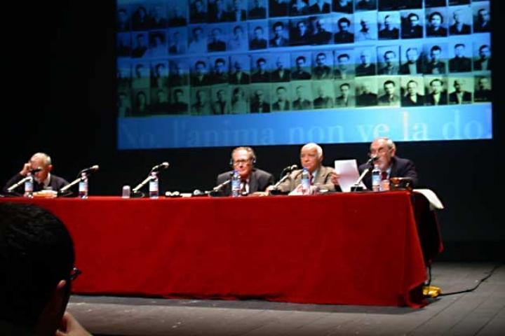"""Pietro Kuciukian introduce la sessione su """"La difesa della dignità umana nel Gulag"""""""