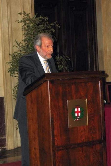 L'intervento del presidente della Comunità ebraica di Milano Leone Soued