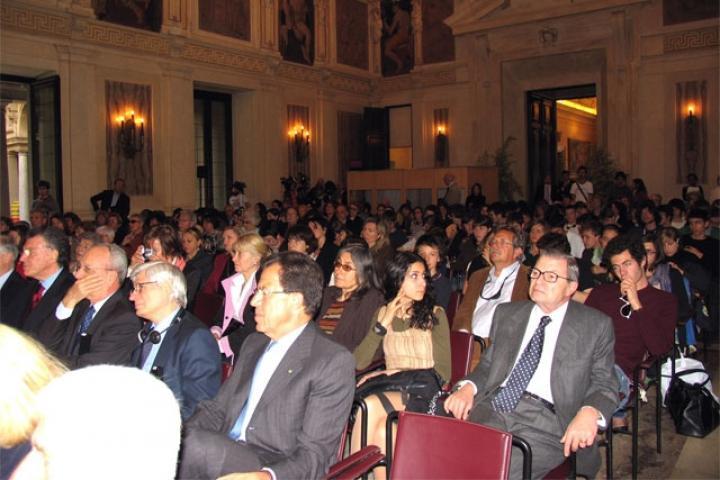 Il pubblico in Sala Alessi