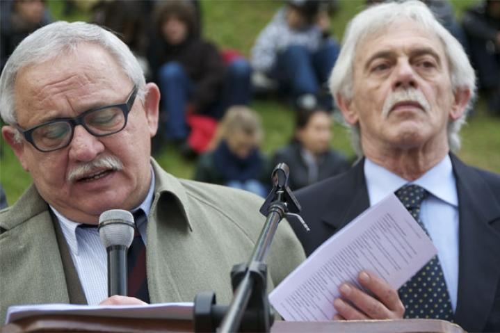 Luigi e Antonio Zazzeri, nipoti di Guelfo Zamboni