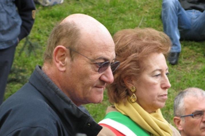 Letizia Moratti e Gabriele Nissim