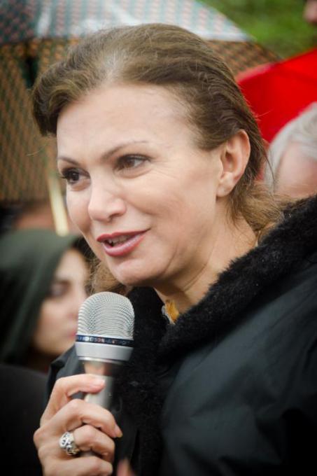 Giselle El Kazzi, vedova di Samir Kassir