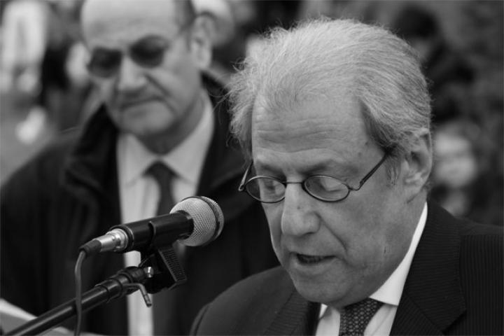 Il presidente della Comunità ebraica di Milano Leone Soued