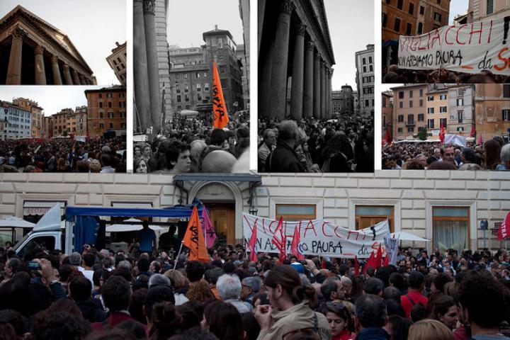 Una manifestazione a Roma (Foto di Sarasx)