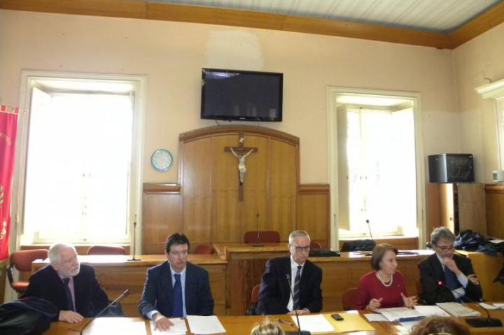 Benevento - cerimonia nell'Aula del Consiglio Comunale