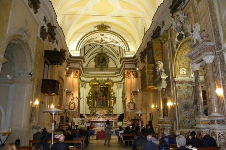 Celebrazioni a Benevento, Chiesa della Santissima Annunziata
