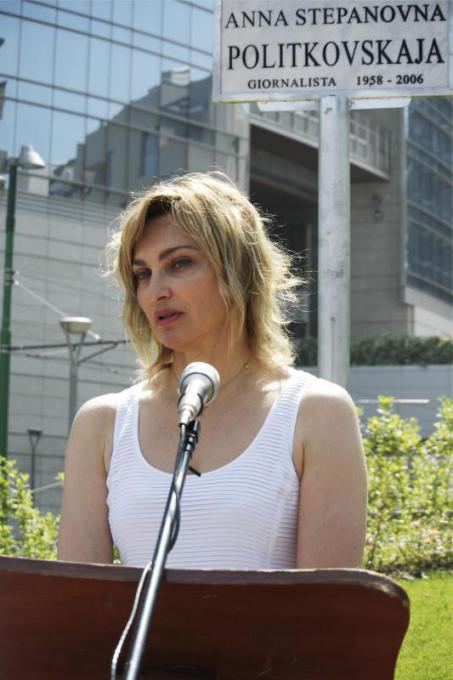 Elena Kudimova, sorella di Anna