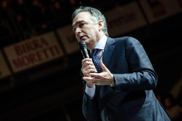 Enrico Rossi, presidente della Regione Toscana