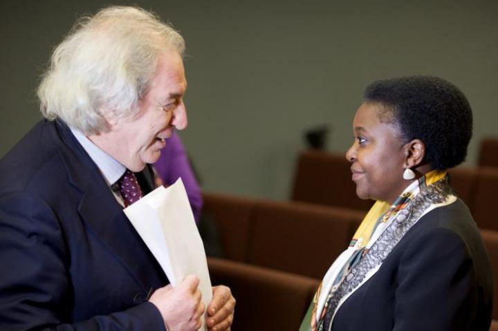 Antonio Ferrari e il ministro Kyenge