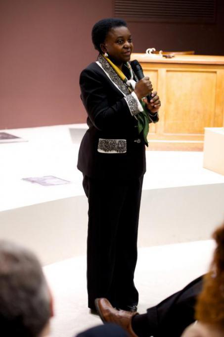 Il ministro dell'Integrazione Cécile Kyenge
